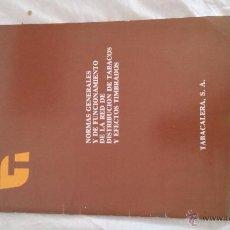 Coleccionismo: NORMAS GENERALES TABACALERA S.A. Lote 52344931