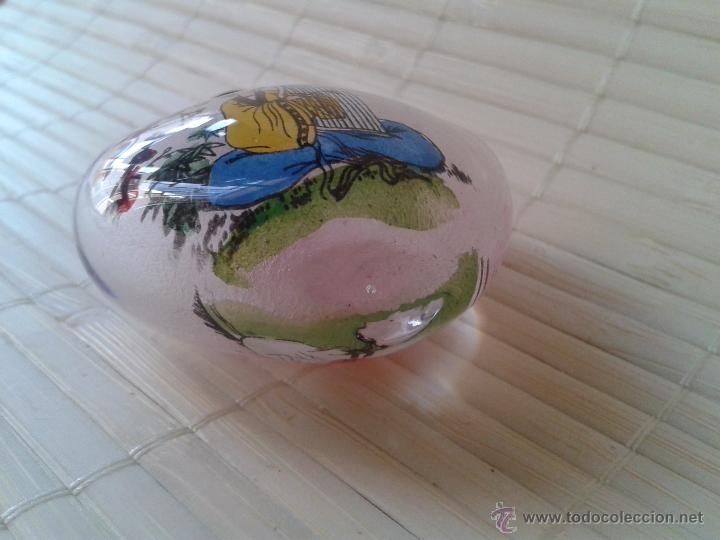 Coleccionismo: Snuff bottle de cristal pintada a mano por dentro. Dos imágenes músicos. Importada de China - Foto 5 - 52500358