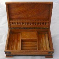 Coleccionismo: HUMIDOR PARA TABACOS - CAJA DE MADERA CON MUSICA - ALTA CALIDAD. Lote 52556715