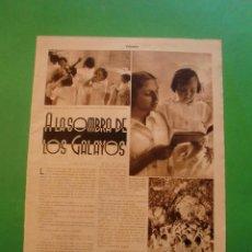 Collectionnisme: A LA SOMBRA DE LOS GALAYOS - S'AGARO - 18/7/1936. Lote 52581930