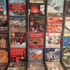 Coleccionismo: CDS INTERACTIVOS. INTERESANTE CONJUNTO DE 32 CDS DE LUJO / DIVERSOS TEMAS. VER FOTOS.. Lote 52600307
