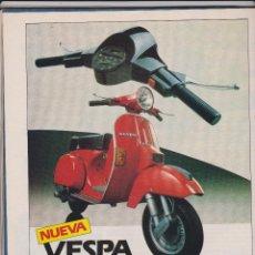 Coleccionismo: PUBLICIDAD MOTO VESPA IRIS DE 1985. Lote 59215001