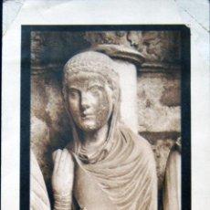 Coleccionismo: LAMINA ANTIGUA JOUDIT, CATEDRAL DE CHARTRES E HOUVET 43 X 13 CM. Lote 52714879