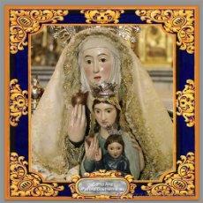 Coleccionismo: BONITO AZULEJO 15X15 DE SANTA ANA (PATRONA DE DOS HERMANAS). Lote 52744509