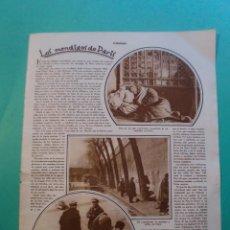 Coleccionismo: LOS MENDIGOS DE PARIS - EMPLASTOS DR. WINTER - 22/1/1929. Lote 52800287