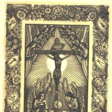 Coleccionismo: GOIGS A LLAOR DEL SANT CRIST D'IGUALADA, 1965. Lote 52837397