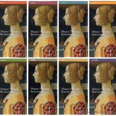 Coleccionismo: 8 PROGRAMAS MUSEO THYSSEN-BORNEMISZA ESPAÑOL ITALIANO FRANCES ALEMAN PORTUGUES JAPONES CHINO RUSO. Lote 52873090