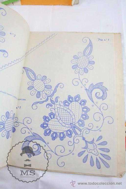 conjunto de fascículos y patrones para bordar y - Comprar Documentos ...