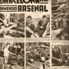 Coleccionismo: AÑO 1936 PLENA GUERRA CIVIL ESPAÑOLA BARCELONA INMENSO ARSENAL FABRICACION DE BOMBAS MUNICION ARMAS. Lote 52949576