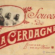 Coleccionismo: SOUVENIR DE LA CERDAGNE - SERIE DE LÁMINAS ANTIGUAS DE LA CERDANYA - EDITION DE LA MARQUE - AÑOS 20. Lote 52967882