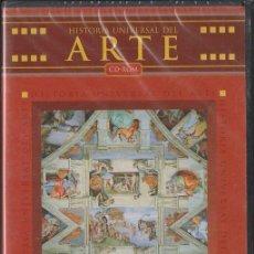 Coleccionismo: HISTORIA UNIVERSAL DEL ARTE. CD-PC-131. Lote 52969195