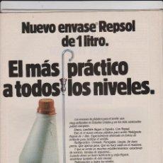 Coleccionismo: PUBLICIDAD ACEITE REPSOL . Lote 53061467