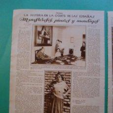 Coleccionismo: MENESTEROLES PÍCAROS Y MENDIGOS - PERFILES ARAGONESES TRAJES POPULARES - 18/9/1928. Lote 53142233
