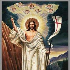 Coleccionismo: BONITO AZULEJO 20X30 DE LA RESURRECIÓN.. Lote 53269043