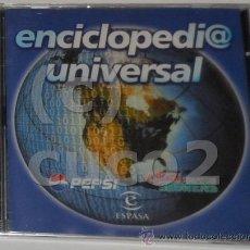 Coleccionismo: CD,ENCICLOPEDIA,UNIVERSAL, ESPASA (PRECINTADO). Lote 53285659