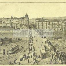 Coleccionismo: BILBAO PUENTE DEL ARENAL Y TEATRO DESPUÉS DEL INCENDIO ANTERIOR A 1919 (REFAI). Lote 53296731