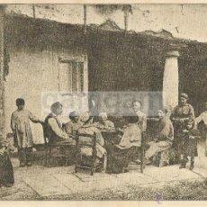 Coleccionismo: AMOREBIETA ZORNOTZA JUGANDO A LAS CARTAS ANTERIOR A 1919 (REFAI). Lote 53296874