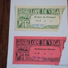 Coleccionismo: SEVILLA.TEATRO NACIONAL LOPE DE VEGA . Lote 53356976