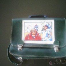 Coleccionismo: RARISIMA CARTERA DE COLEGIO PIEL DON QUIJOTE AÑOS 80.PERFECTO ESTADO.VER FOTOS. Lote 53385988