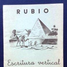 Coleccionismo: CUADERNO ESCUELA / ESCOLAR DE CALIGRAFÍA RUBIO Nº 7 - ESCRITURA VERTICAL - AÑOS 60 / 70. Lote 100690675