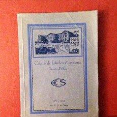 Coleccionismo: DEUSTO, COLEGIO DE ESTUDIOS SUPERIORES. BILBAO. (1931- 1932). RETRATOS DE ALUMNOS.. Lote 53484395