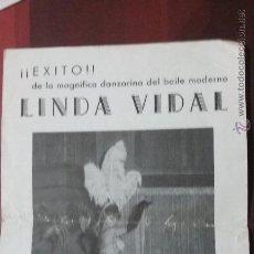 Coleccionismo: HOJA PUBLICITARIA SALA DE FIESTAS ANDALUCIA DE NOCHE BARCELONA AÑOS 70. Lote 53533089
