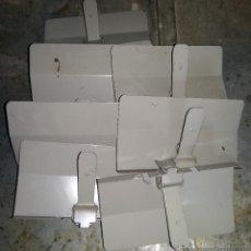 Coleccionismo: LOTE DE 7 SEPARADORES DE ARCHIVO, 19 X 10,5 CM. Lote 53733500