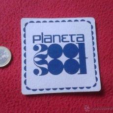 Coleccionismo: POSAVASOS COASTER TENGO MAS POSAVASOS VER LOTES PLANETA 2001 DISCOTECA ?? IDEAL COLECCION VER FOTO/S. Lote 53785449