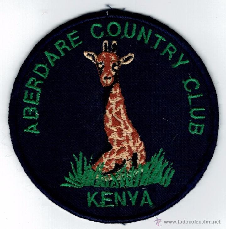 PARCHE TELA - ABERDARE COUNTRY CLUB - KENIA segunda mano