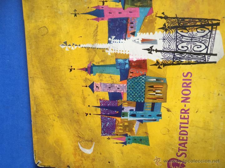 Coleccionismo: ANTIGUO Y RARO DE JUEGO DE PINTURAS STAEDTLER-NORIS DE 24 PINTURAS CIRCLA1955 - Foto 2 - 53890248