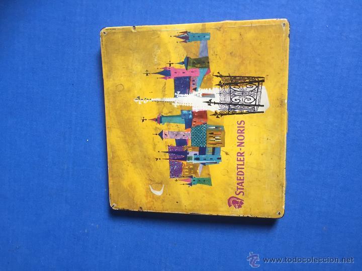 Coleccionismo: ANTIGUO Y RARO DE JUEGO DE PINTURAS STAEDTLER-NORIS DE 24 PINTURAS CIRCLA1955 - Foto 3 - 53890248