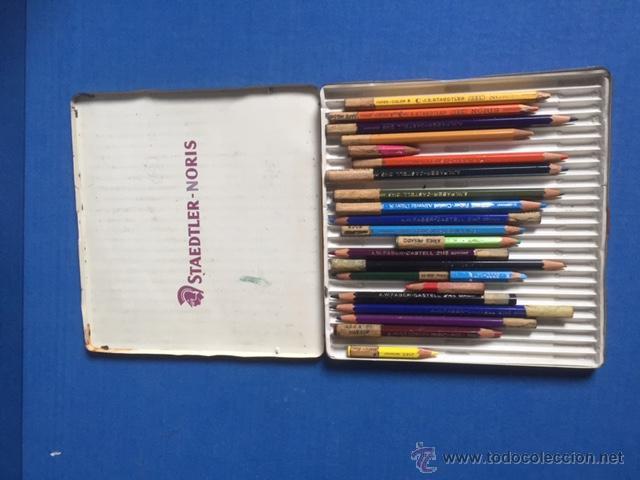 Coleccionismo: ANTIGUO Y RARO DE JUEGO DE PINTURAS STAEDTLER-NORIS DE 24 PINTURAS CIRCLA1955 - Foto 4 - 53890248