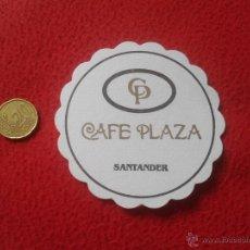 Coleccionismo: POSAVASOS COASTER TENGO MAS POSAVASOS VER LOTES CP CAFE PLAZA SANTANDER CANTABRIA IDEAL COLECCION VE. Lote 53912474