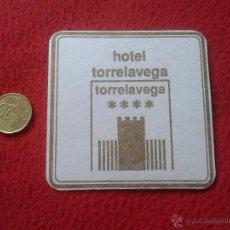 Coleccionismo: POSAVASOS COASTER TENGO MAS POSAVASOS VER LOTES HOTEL TORRELAVEGA CANTABRIA ESCASO IDEAL COLECCION V. Lote 53956478
