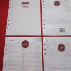 Coleccionismo: LOTE 4 RECAMBIOS-AGENDA-MIQUELRIUS INTEGRAL PLUS-VER TAMAÑA-(24). Lote 53964872