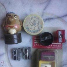 Coleccionismo: LOTE DE 8 MAQUINITAS SACAPUNTAS .. Lote 54091434