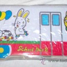 Coleccionismo: ESTUCHE ESCOLAR OLYMPIC SCHOOL BUS 2, VACÍO. Lote 54154874