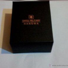 Coleccionismo: CAJA DE RELOJES DE SWISS MILITARY HANOWA. Lote 54276243