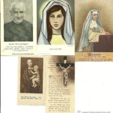 Coleccionismo: ESTAMPAS RELIGIOSAS. Lote 54330773