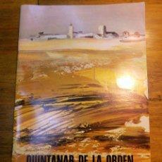 Coleccionismo: PROGRAMA FESTEJOS, QUINTANAR DE LA ORDEN 1972. Lote 54447302