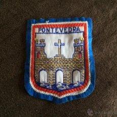 Colecionismo: PARCHE BORDADO PARA ROPA DE LA CIUDAD DE PONTEVEDRA. Lote 54653463