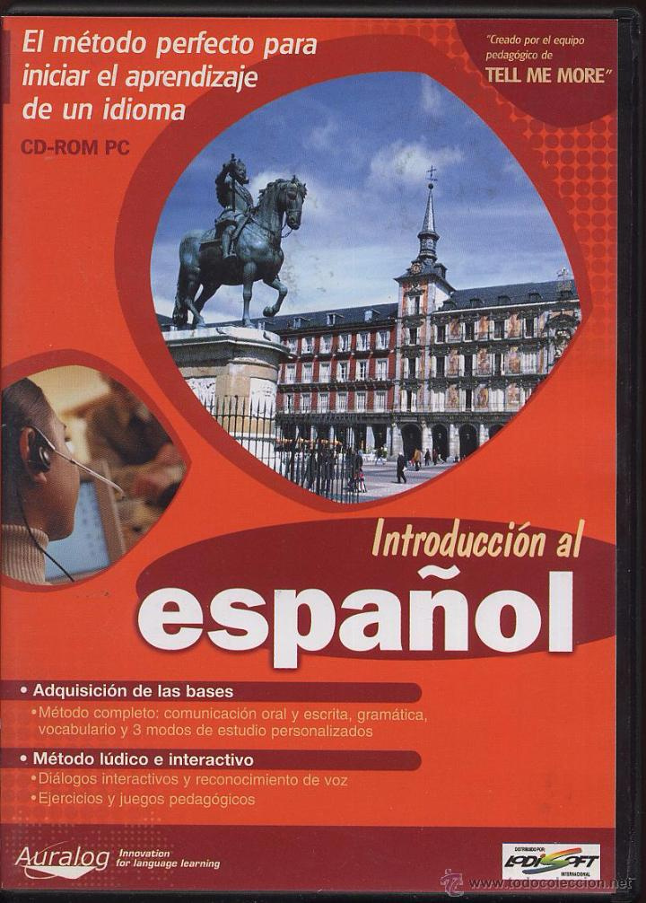 CDROM PC - INTRODUCCION AL ESPAÑOL (Coleccionismo - Varios)