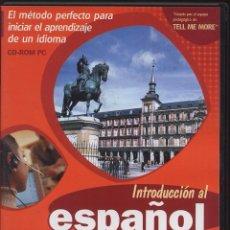 Coleccionismo: CDROM PC - INTRODUCCION AL ESPAÑOL. Lote 54716553