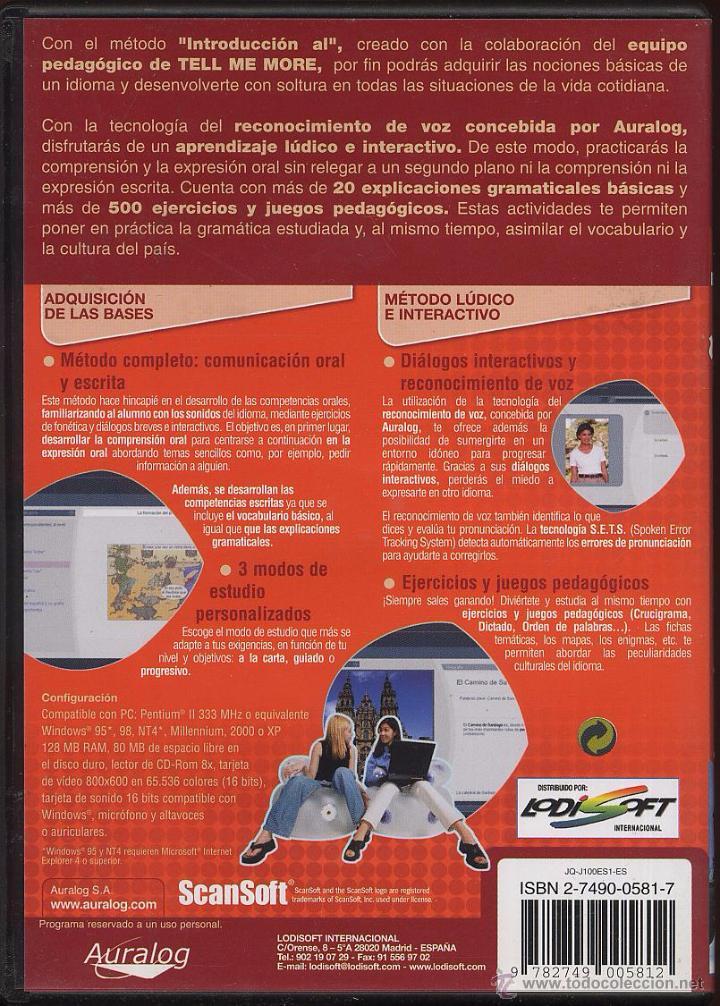 Coleccionismo: CDROM PC - INTRODUCCION AL ESPAÑOL - Foto 2 - 54716553