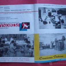 Coleccionismo: CREACIONES PEDRONA.-SANTA MARGARITA.-ABRIGOS.-CHAQUETAS.-FALDAS.-PROPAGANDA.-MALLORCA.-AÑO 1966.. Lote 54740119