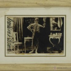 Coleccionismo: O2-O30. AUTOGRAFO ORIGINAL. FIRMA ILEGIBLE. 1920.. Lote 49498376
