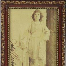 Coleccionismo: O2-044. AUTOGRAFO ORIGINAL DE JULIA MARLOWE. ACTRIZ. 1892. Lote 49510104