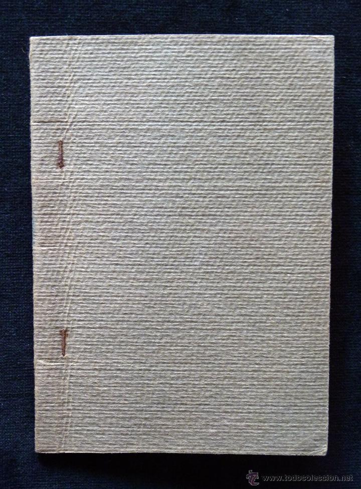 Coleccionismo: ANTIGUA LIBRETA AGENDA CARNET ESCOLAR COLEGIO DE COLÓN 16 x 11,5 cm.. VALENCIA 1928 - Foto 2 - 54855156
