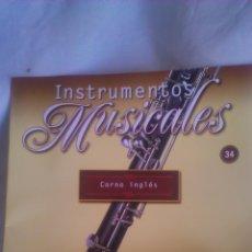 Coleccionismo: INSTRUMENTO MUSICAL CORNO INGLES. COLECCIONABLE DE SALVAT.CON FACISCULO. . Lote 54863729