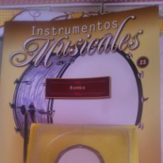 Coleccionismo: INSTRUMENTO MUSICAL BOMBO,COLECCIONABLE DE SALVAT.CON FACISCULO. . Lote 54863800